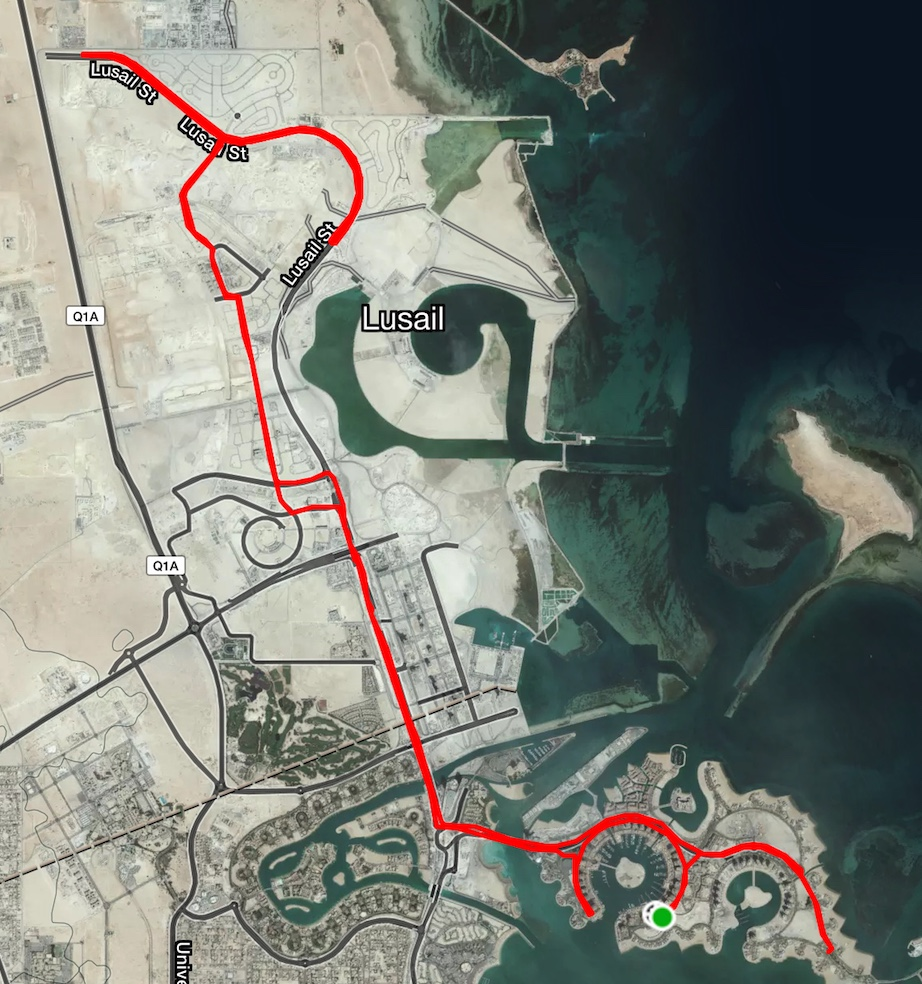 Friday Long Ride Lusail